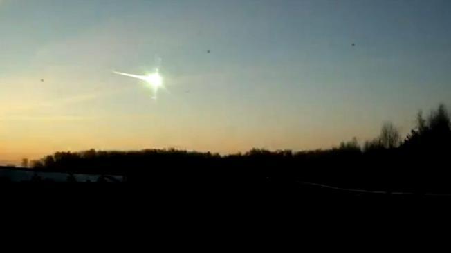 meteorito en rusia