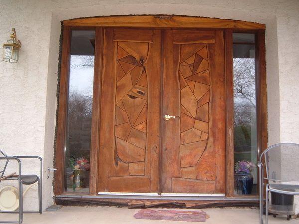 Im genes de puertas de madera im genes for Puertas principales de cristal