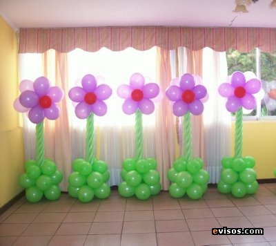 Decoracion con globos im genes for Decoracion con fotografias