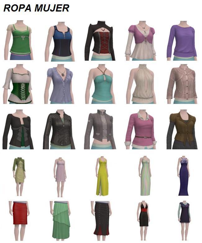 ropa de mujer