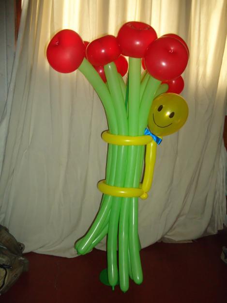 Decoracion con globos im genes - Decoracion para el dia de la madre ...