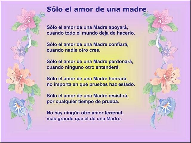 poemas para el dia de la madre