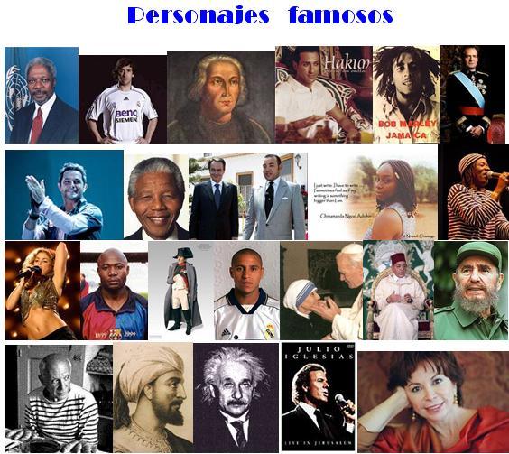 fotos de personajes
