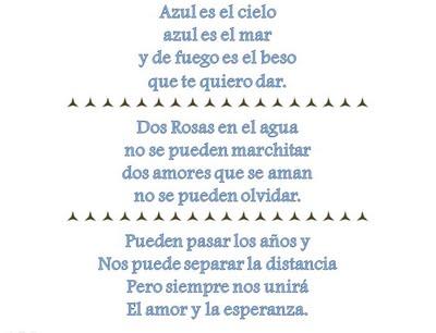 poesias cortas