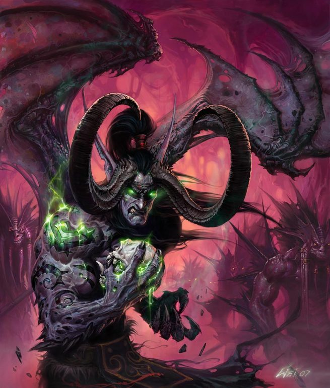 imagenes de demonios