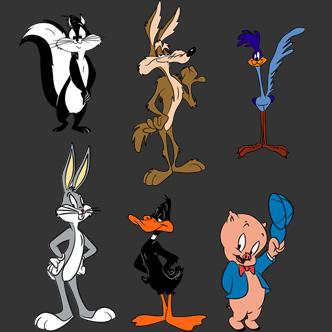 personajes animados