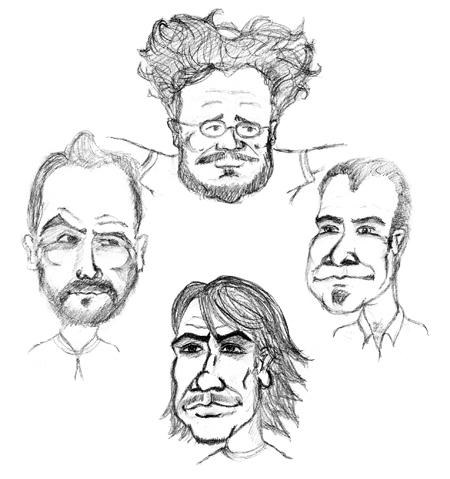 Dibujos caricaturas de personas | Imagenes