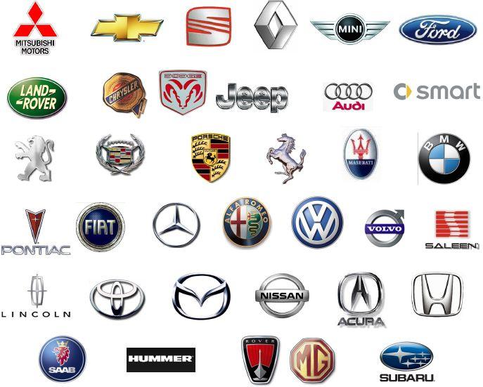 Im genes de marcas de carros con nombres im genes for Marcas de coches