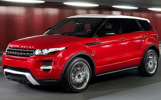 land rover evoque
