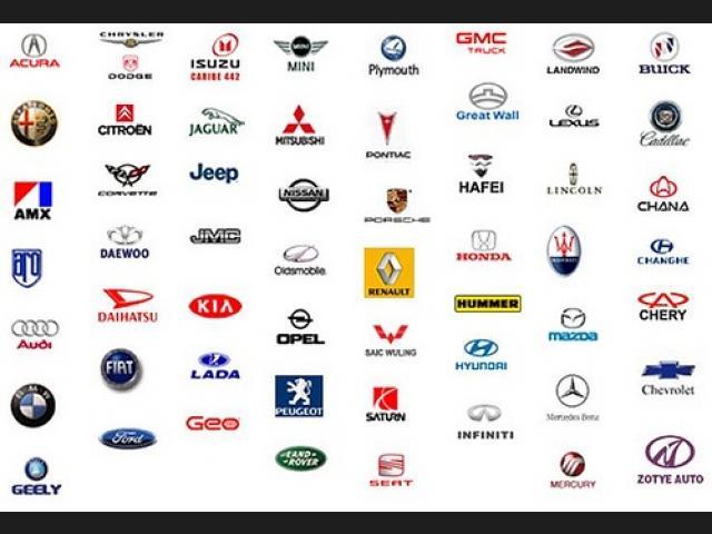 Todas las marcas de autos y sus nombres